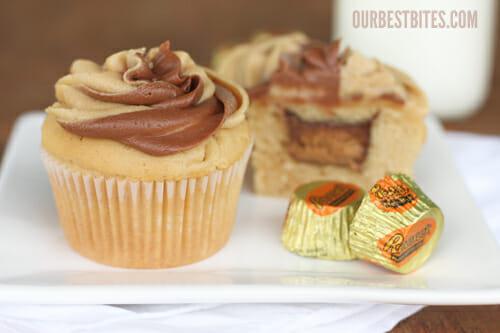 pillsbury chocolate peanut butter cupcakes