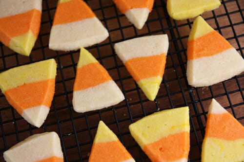 Candy Corn Sugar Cookies - Our Best Bites