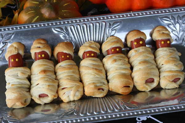 Mummy Dogs from Our Best Bites