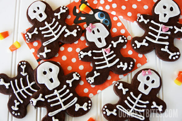 Skeleton Cookies from Our Best Bites