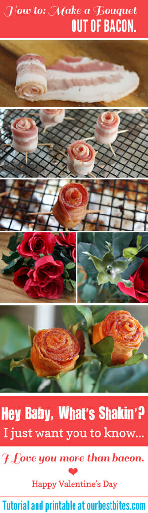 How to make a bacon bouquet from Our Best Bites