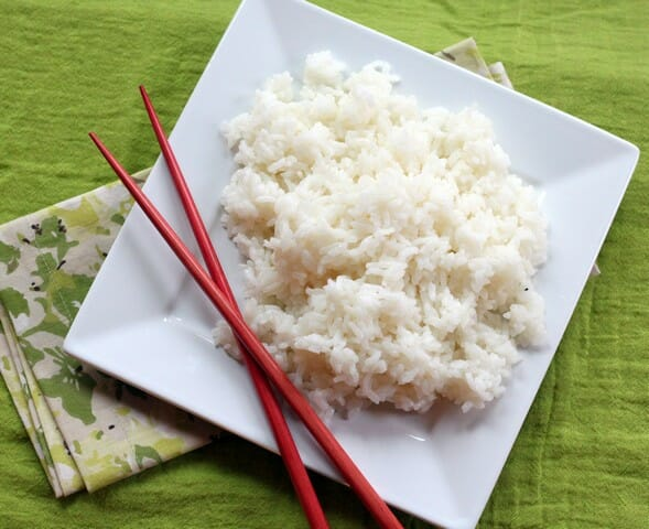 short grain white rice cooking instructions