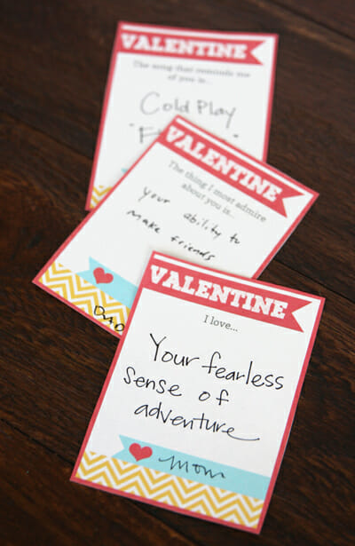 Love notes for my kiddos