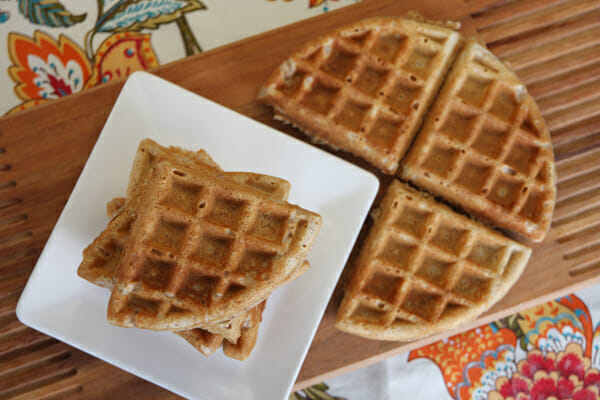 Whole Grain Waffles from Our Best Bites