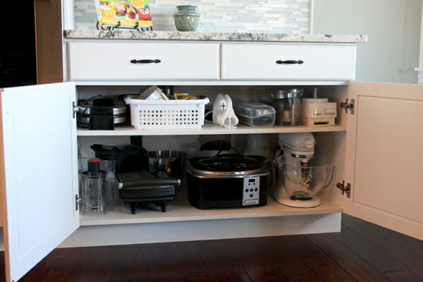 Charmant Liance Storage In Kitchen Credainatcon