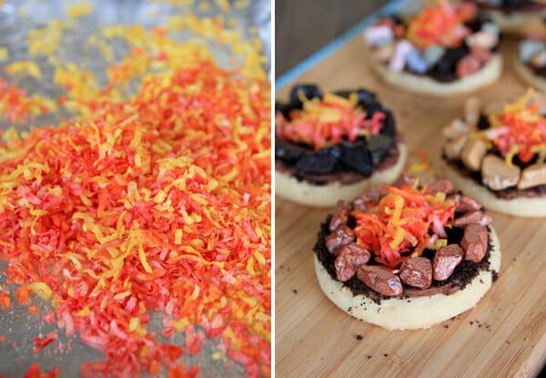 Flames on Cookies