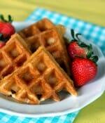 small belgian waffles