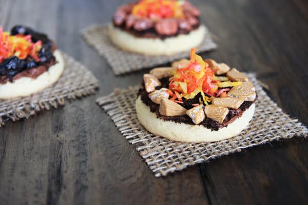 Mini Campfire Cookies