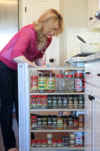 kitchen cabinet pull out spice rack s kitchen tour part 1 our best bites 9132