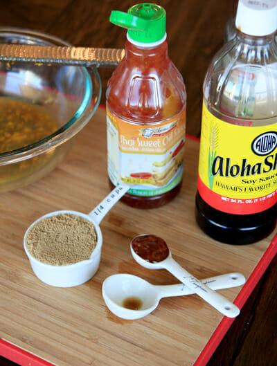 Bottled Ingredients