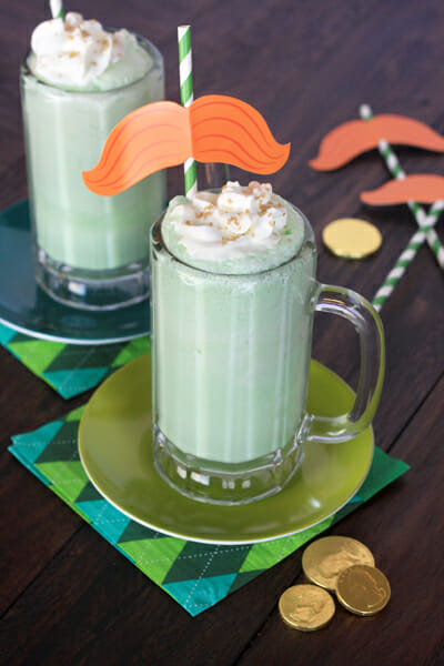 Creamy Coconut Lime Floats from Our Best Bites