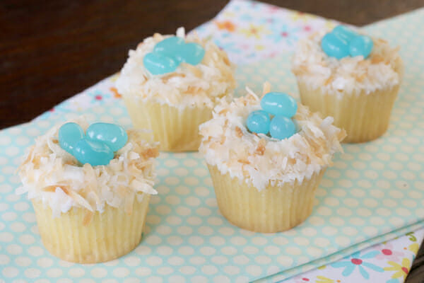 Easy Easter Cupcakes from Our Best Bites : easy spring cupcake decorating ideas - www.pureclipart.com