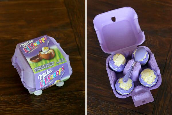Milka Eggs