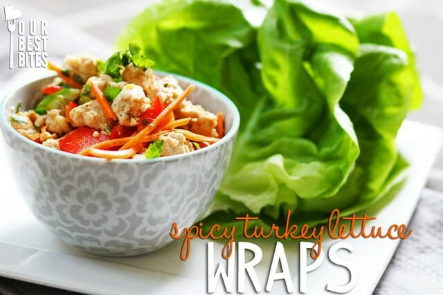 Super healthy and quick Asian lettuce wraps from Our Best Bites!