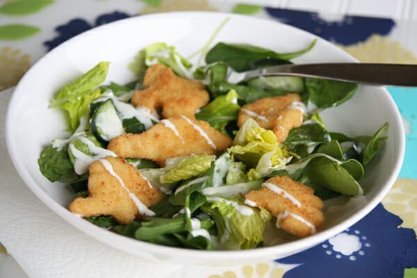 Crispy Dino Salad