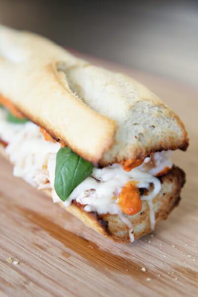 Italian Roasted Pepper Sandwich