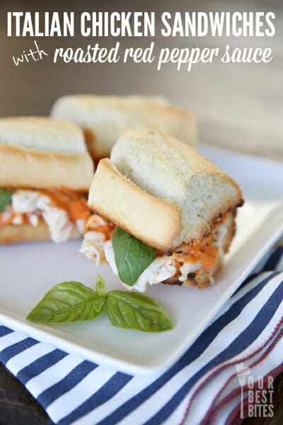 Quick and Easy Italian Sandwiches from Our Best Bites