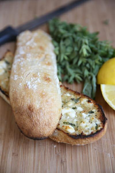 Feta Garlic Herb Butter
