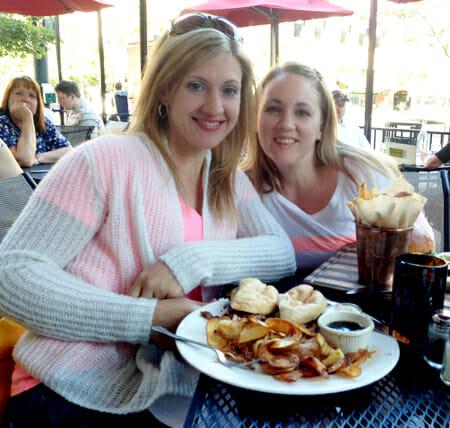 Sara and Kate at Fork