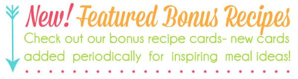 Featured Recipes Graphic