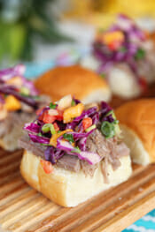 Hawaiian Pork Sliders from Our Best Bites intro