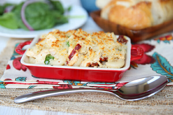 Hearty Italian Mac and Cheese Bake from Our Best Bites