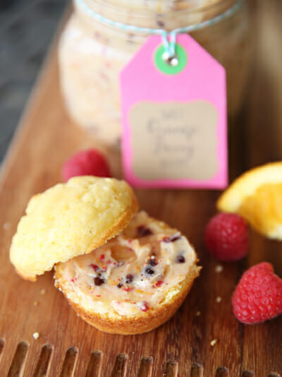 Orange Berry Butter and Corn Bread from Our Best Bites