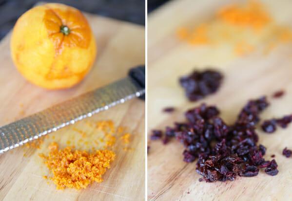 Orange Zest and Berries