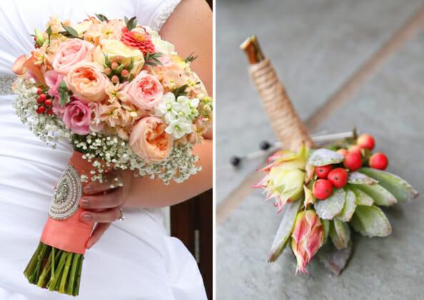 Our Best Bites Wedding Flowers