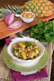 Curry Cashew Quinoa Salad intro