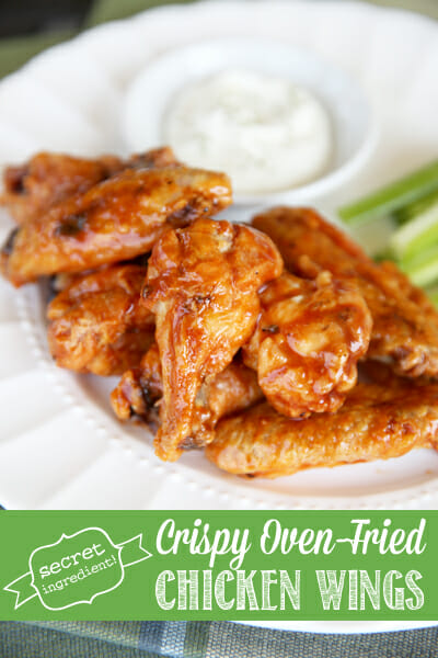 The secret to Crispy Glazed Chicken Wings in the Oven