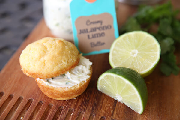Creamy Jalapeno Lime butter from Our Best Bites
