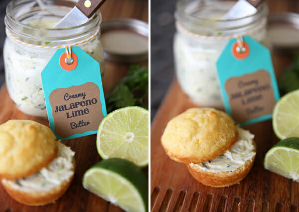 Yummy Lime Jalapeno Butter from Our Best Bites