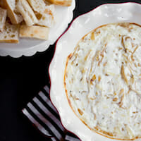 Hot French Onion Dip from Our Best Bites