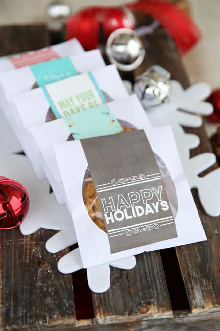 Black and White Printable for CD Treat Envelopes