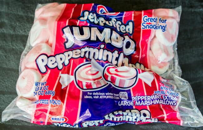 jumbo peppermint marshmallows