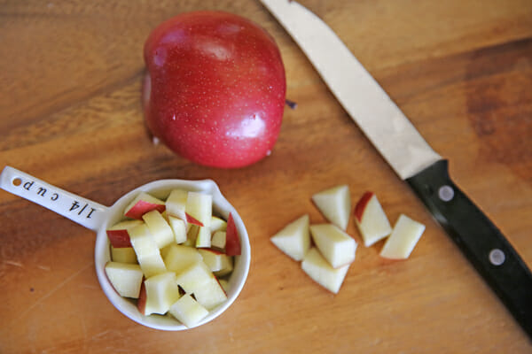 Skinny Chicken Salad Diced Apple
