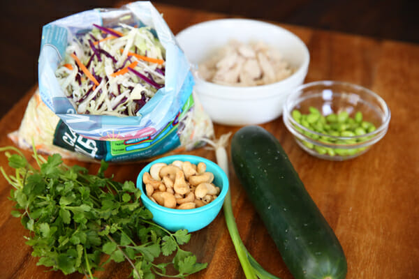 Thai Salad Ingredients