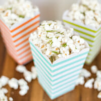 Black Pepper, Parmesan, and Rosemary Popcorn from Our Best Bites