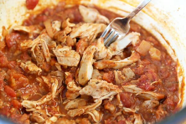 Shredded Italian Chicken