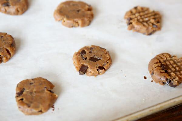Smashed PB Cookies