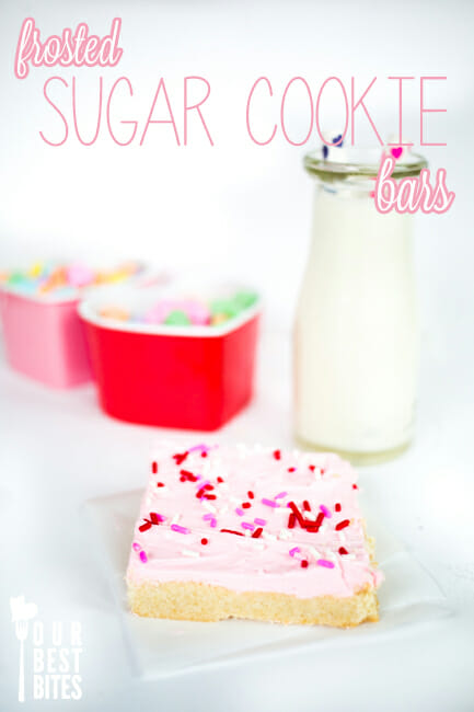 Super Easy Sugar Cookie Bars from Our Best Bites