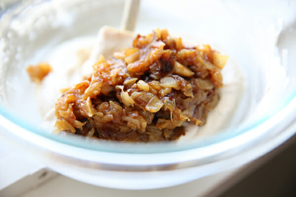 Caramelized Onions in dip