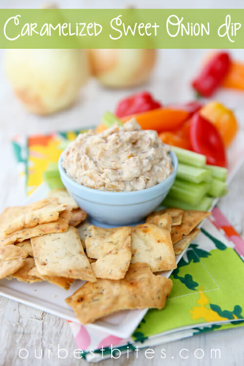 Caramelized Sweet Onion Dip from Our Best Bites