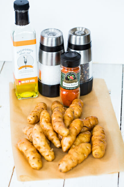 smokey fingerling potatoes ingredients