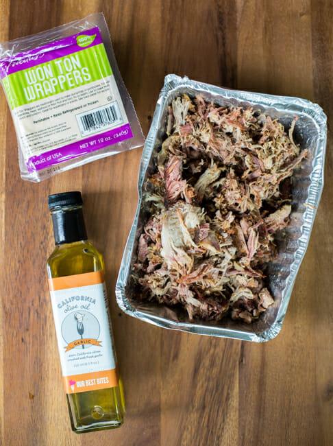kalua pork wonton ingredients