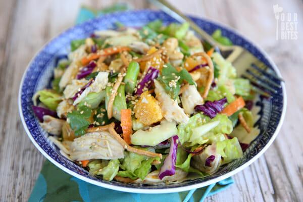 Our Best Bites Orange Sesame Asian Salad