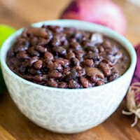 slow cooker black beans-5 square