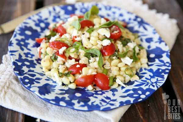Fresh Corn Salad from Our Best Bites