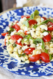 Fresh Sweet Corn Salad from Our Best Bites Intro